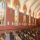 Facing away from Altar at an angle